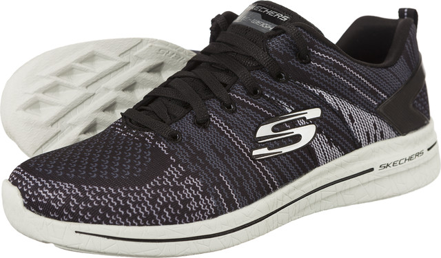 Skechers BURST WALK BKGY 12651-BKGY