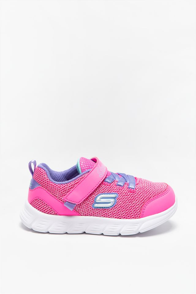 PINK PURPLE SNEAKERSY COMFY FLEX MOVING ON 302107N-HPPR