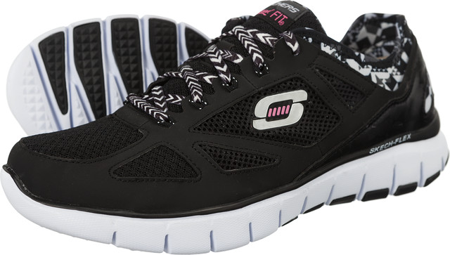 Buty Skechers  <br/><small>Skech Flex Ultimate Reality 12126 BKW </small>  12126-BKW
