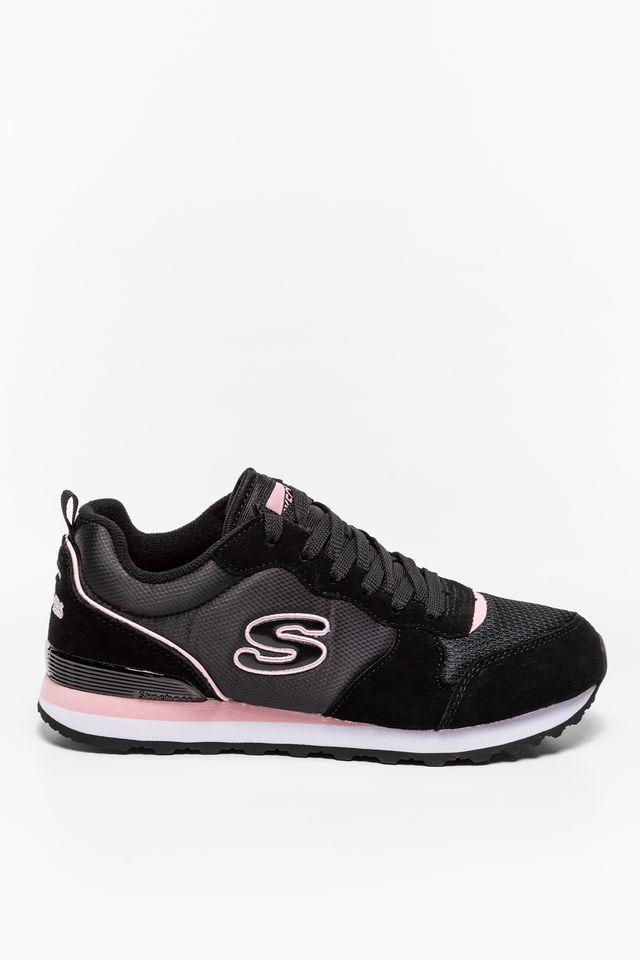 Skechers STEP N FLY 155287 BLACK/PINK