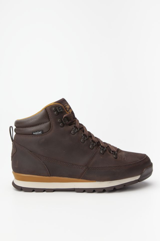 The North Face MEN'S BACK-TO-BERKELEY REDUX LEATHER 090 CHOCOLATE BROWN/GOLDEN BROWN T0CDL05SH