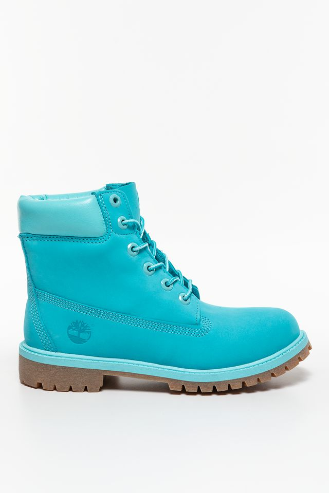 Timberland 6 INCH PREMIUM WATERPROOF BOOT SCUBA BLUE A1RT3