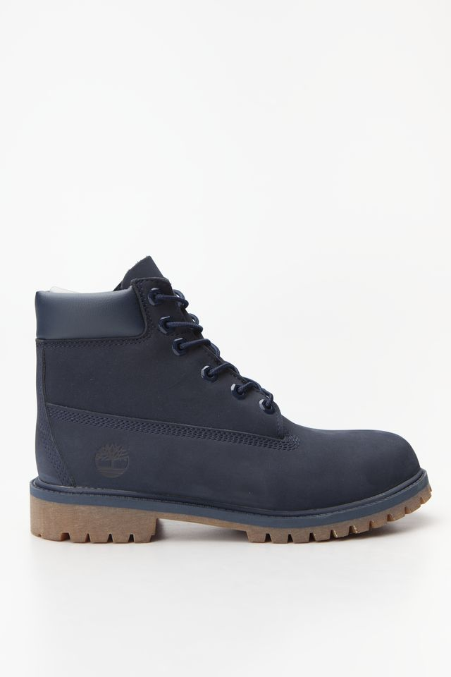 Timberland 6 INCH PREMIUM WP BOOT 484 MEDIUM BLUE NUBUCK TB03793A4841