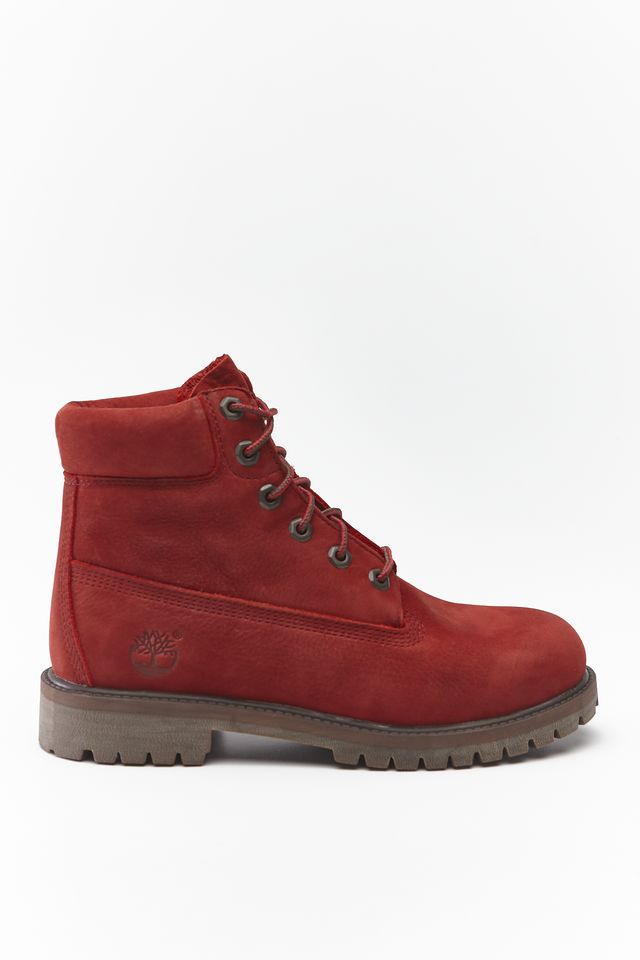 DARK RED 6 INCH PREMIUM WP BOOT V15