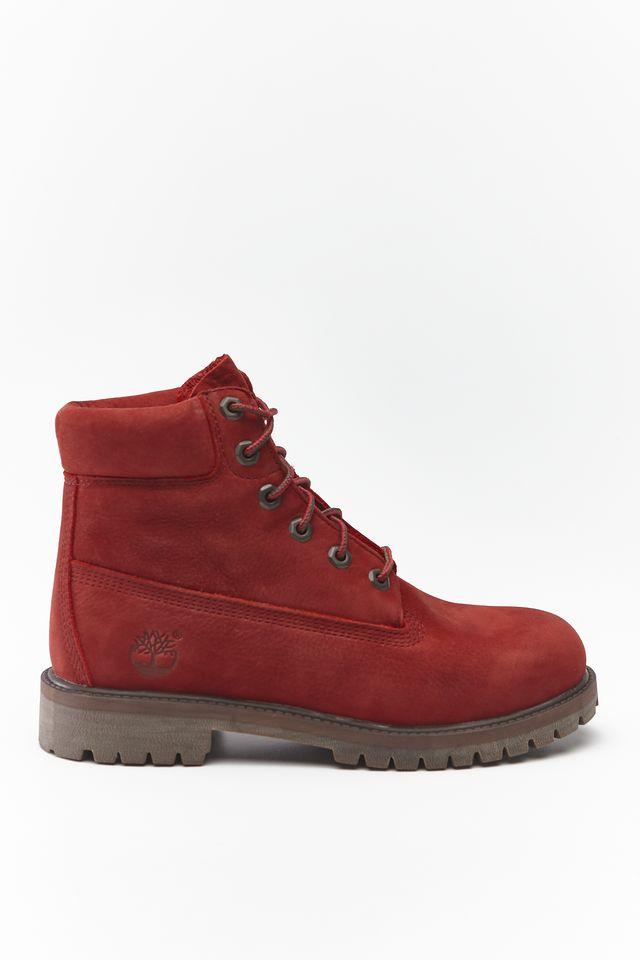 Timberland 6 INCH PREMIUM WP BOOT V15 DARK RED NUBUCK TB0A2954V151