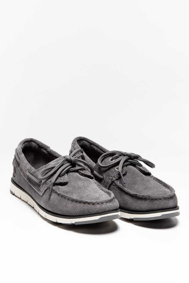 Buty Timberland  <br/><small>CAMDEN FALLS SUEDE BOAT SHOES GUNMETAL </small>  A1P8A