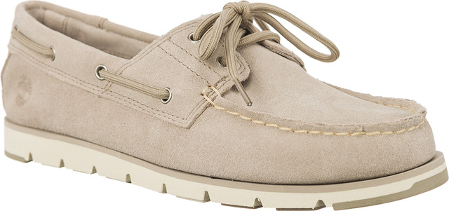Timberland CAMDEN FALLS SUEDE BOAT SHOES SIMPLY TAUPE A1P84
