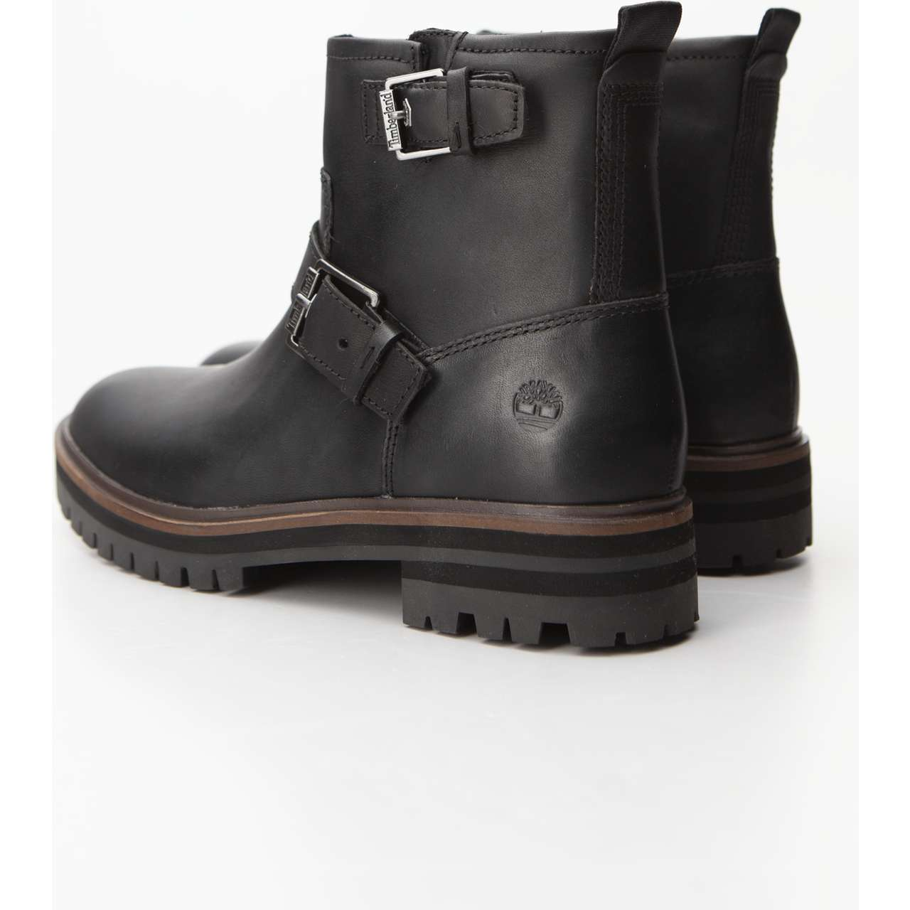 Buty Timberland  <br/><small>LONDON SQUARE BIKER BOOT 015 BLACK FULL-GRAIN </small>  TB0A23JY0151