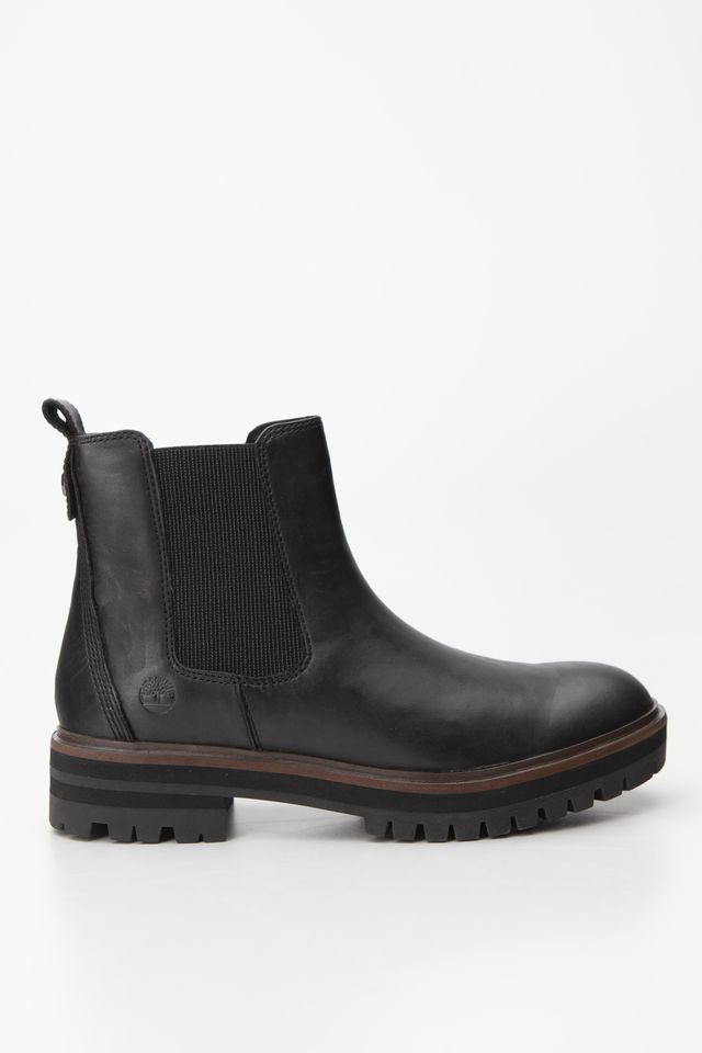 Timberland LONDON SQUARE CHELSEA 015 BLACK FULL-GRAIN TB0A1RBJ0151