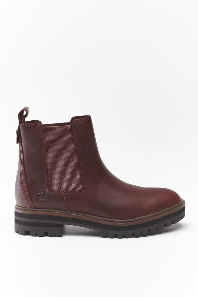 Timberland LONDON SQUARE CHELSEA C60 BURGUNDY FULL-GRAIN TB0A1S91C601
