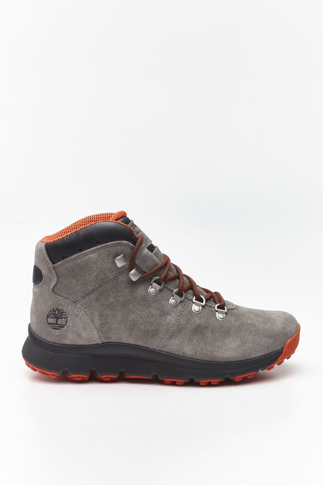Timberland WORLD HIKER MID F49 MEDIUM GREY SUEDE TB0A1Z11F491