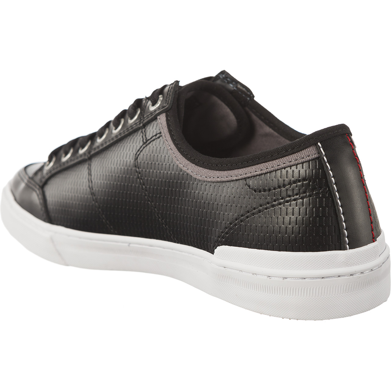 Buty Tommy Hilfiger  <br/><small>CORE CORPORATE LEATHER SNEAKER 990 BLACK </small>  FM0FM01497-990