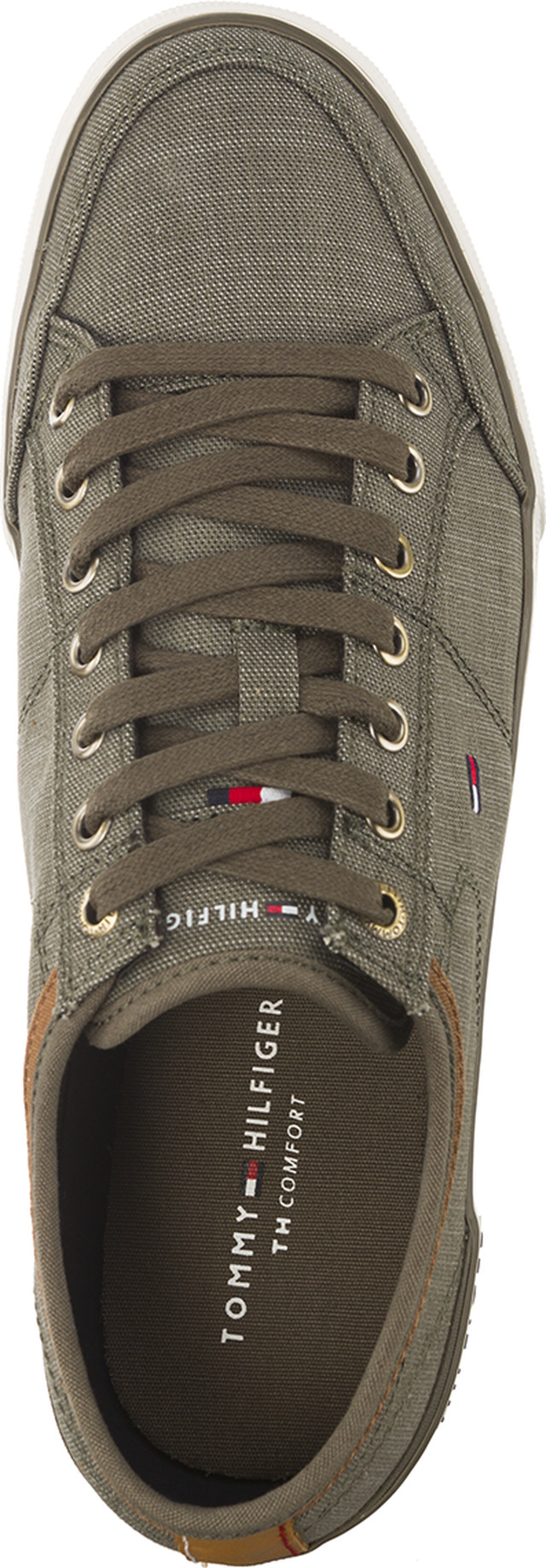 Buty Tommy Hilfiger  <br/><small>CORE MATERIAL MIX SNEAKER DUSTY OLIVE </small>  FM0FM01332-011