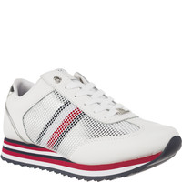 Buty Tommy Hilfiger CORPORATE FLAG SNEAKER FW0FW02450-100 WHITE