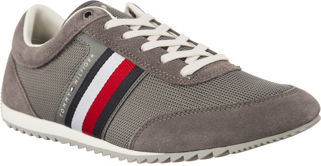 Tommy Hilfiger CORPORATE MATERIAL MIX RUNNER 039 STEEL GREY FM0FM01314-039
