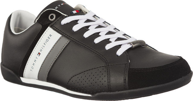 Tommy Hilfiger CORPORATE MATERIAL MIX CUPSOLE 990 BLACK FM0FM01532-990