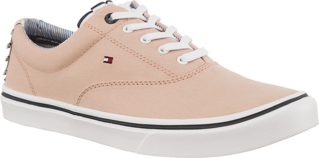 Tommy Hilfiger TEXTILE LIGHT WEIGHT SNEAKER 502 DUSTY ROSE FW0FW02809-502