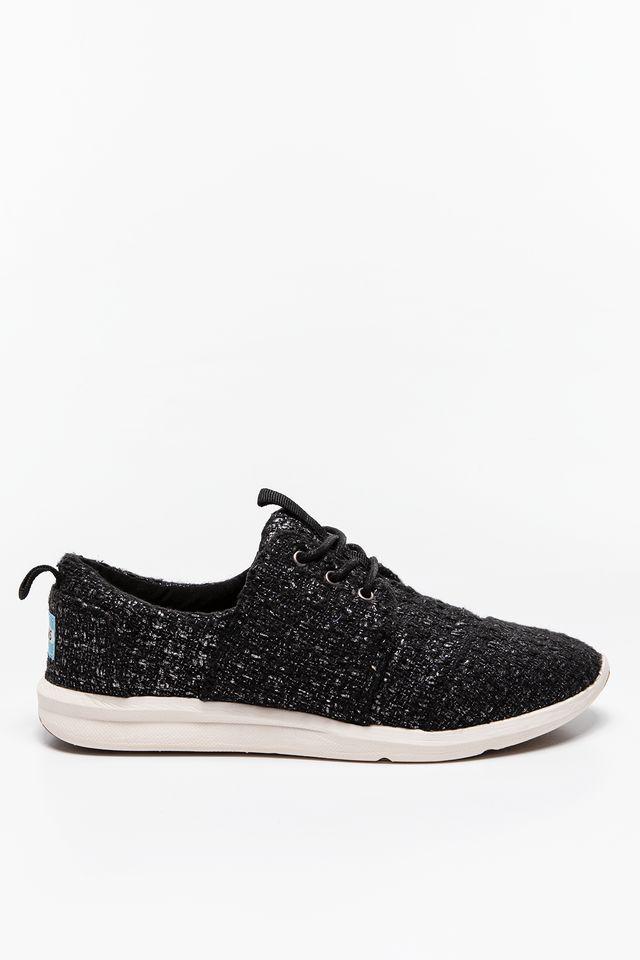 TOMS Glitter Wool Womens Del Rey Sneaker 277 10006277