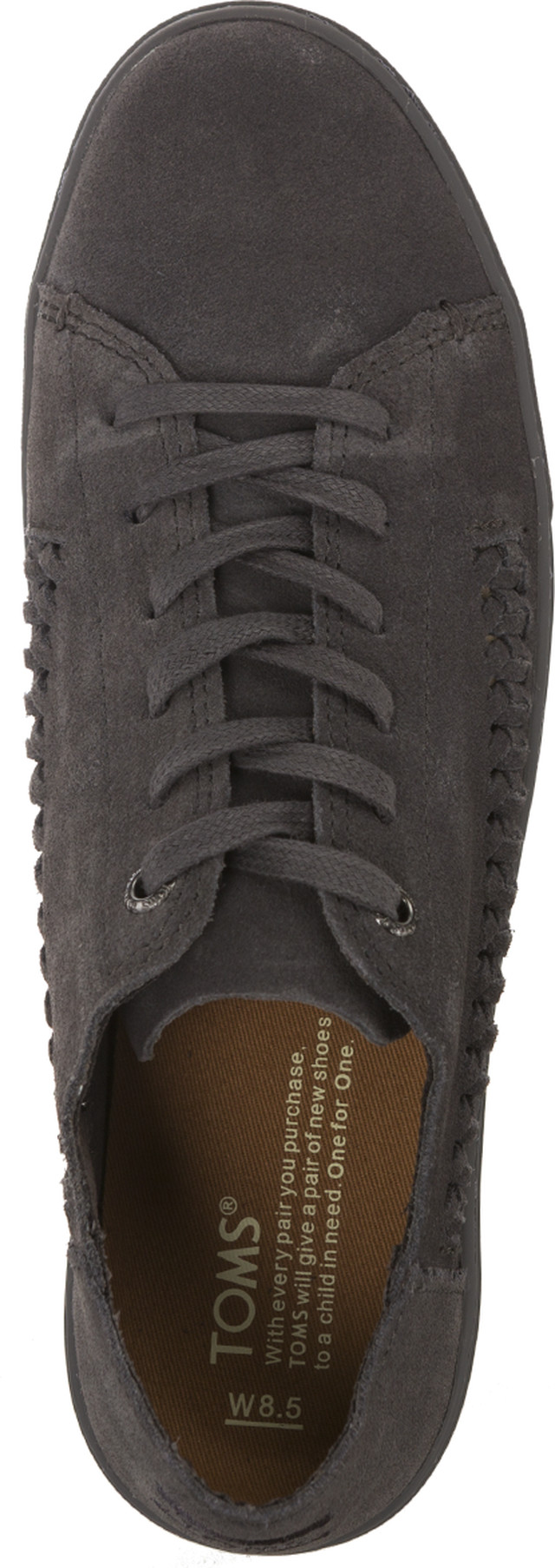 Buty TOMS  <br/><small>Monochrome Deconstructed Suede Woven 841 </small>  10010841