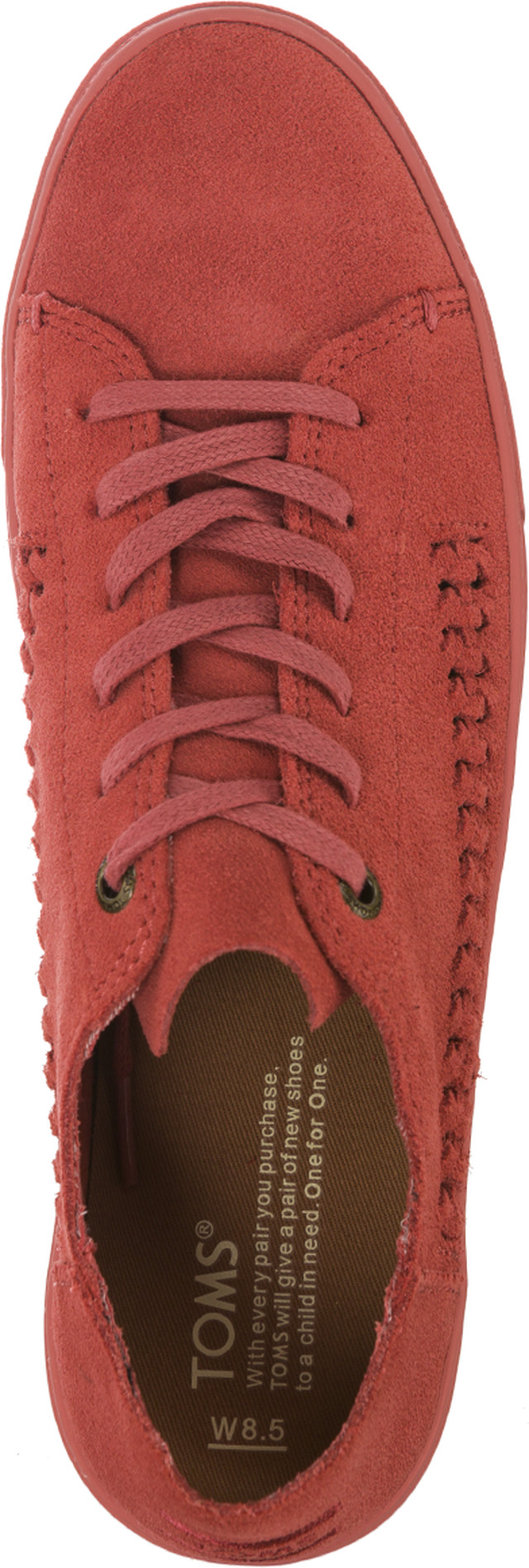 Buty TOMS  <br/><small>Monochrome Deconstructed Suede Woven 844 </small>  10010844