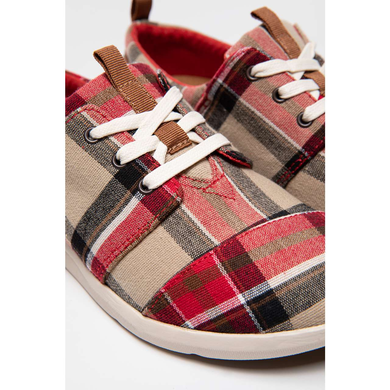 Buty TOMS  <br/><small>Plaid Womens Del Rey Sneaker 895 </small>  10008895