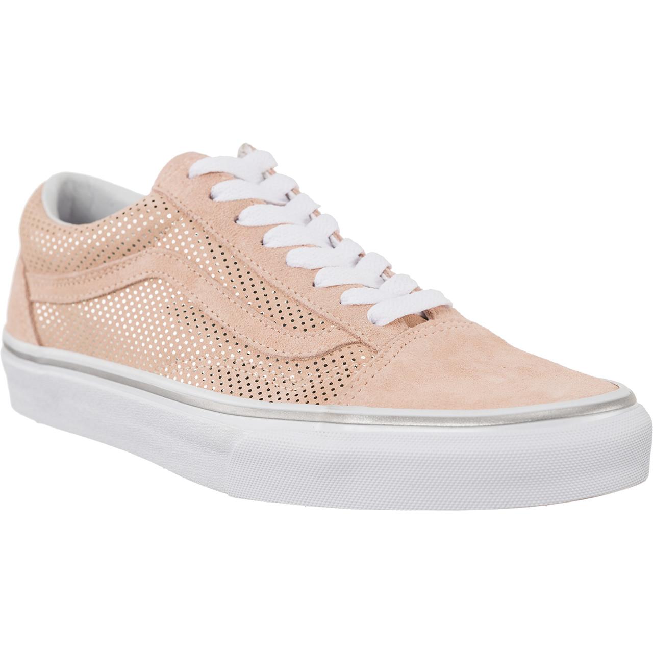 buty vans old skool różowe
