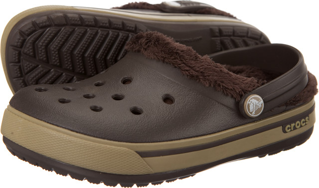 Crocs Kids Crocband 2.5 Winter Clog Espresso/Khaki 12839-22Y