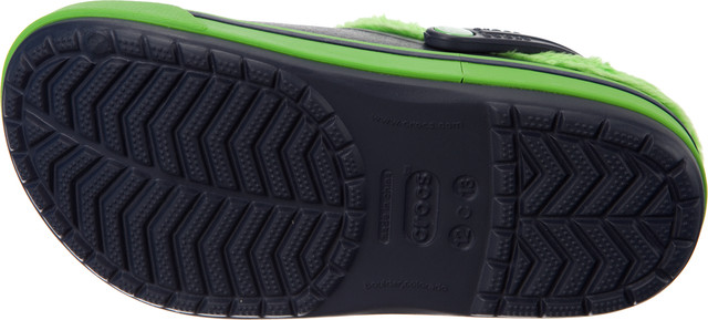Crocs  <br/><small>Kids Crocband 2.5 Winter Clog Navy/Lime Green </small>  12839-479