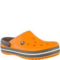 Chodaki Crocs CROCBAND BLAZING ORANGE/SLATE GREY BLAZING ORANGE/SLATE GREY
