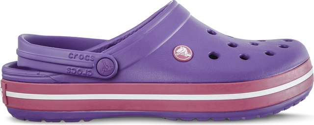 Crocs Crocband Neon Purple Candy Pink 11016-59X