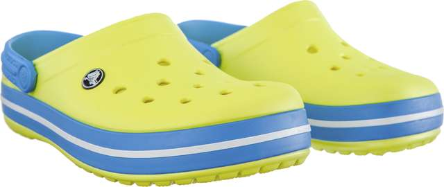 Chodaki Crocs  <br/><small>CROCBAND TENNIS BALL GREEN/OCEAN </small>  11016-73E
