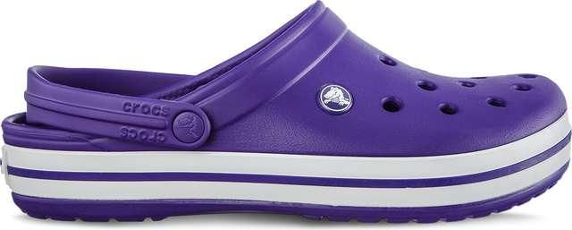 Crocs Crocband Ultraviolet White 11016-50L