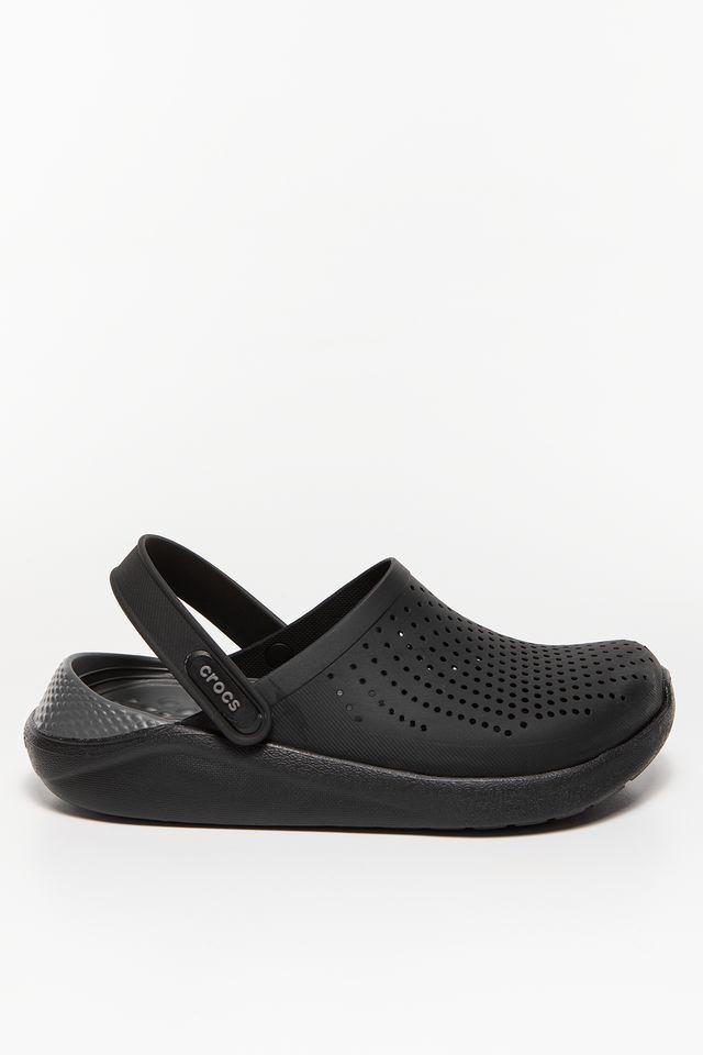 Crocs LITERIDE CLOG 0DD BLACK/SLATE GREY 204592-0DD