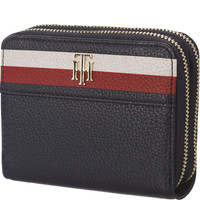 Tommy Hilfiger COOL HARDWARE DBL ZIP MED WALLET COR 902 AW0AW05302-902