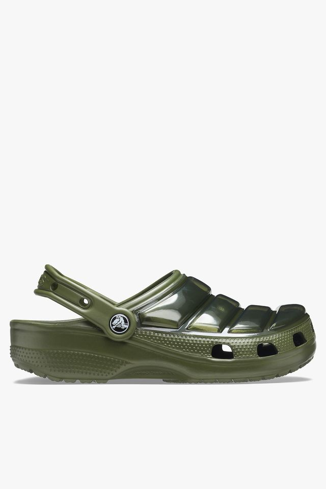 ARMY GREEN CLASSIC NEO PUFF CLOG 206624-309