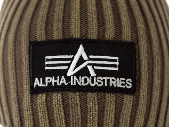 Czapka Alpha Industries  <br/><small>HEAVY RIB BEANIE 22 WASHED OLIVE </small>  153901-22