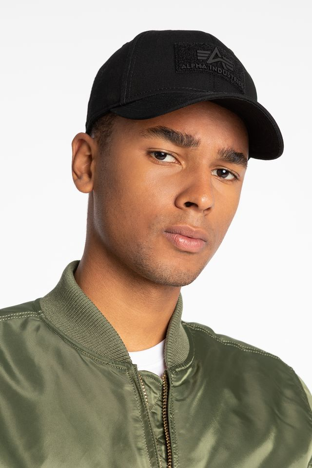 Alpha Industries VELCRO CAP 03 BLACK 168903-03