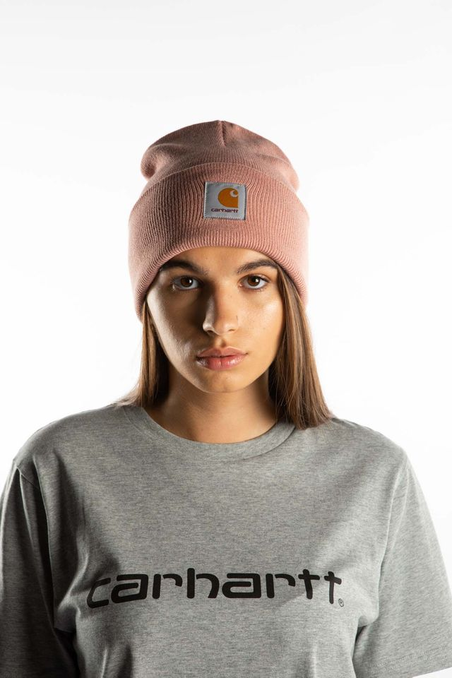 Carhartt WIP ACRYLIC WATCH HAT 04U00 BLUSH I020222-04U00