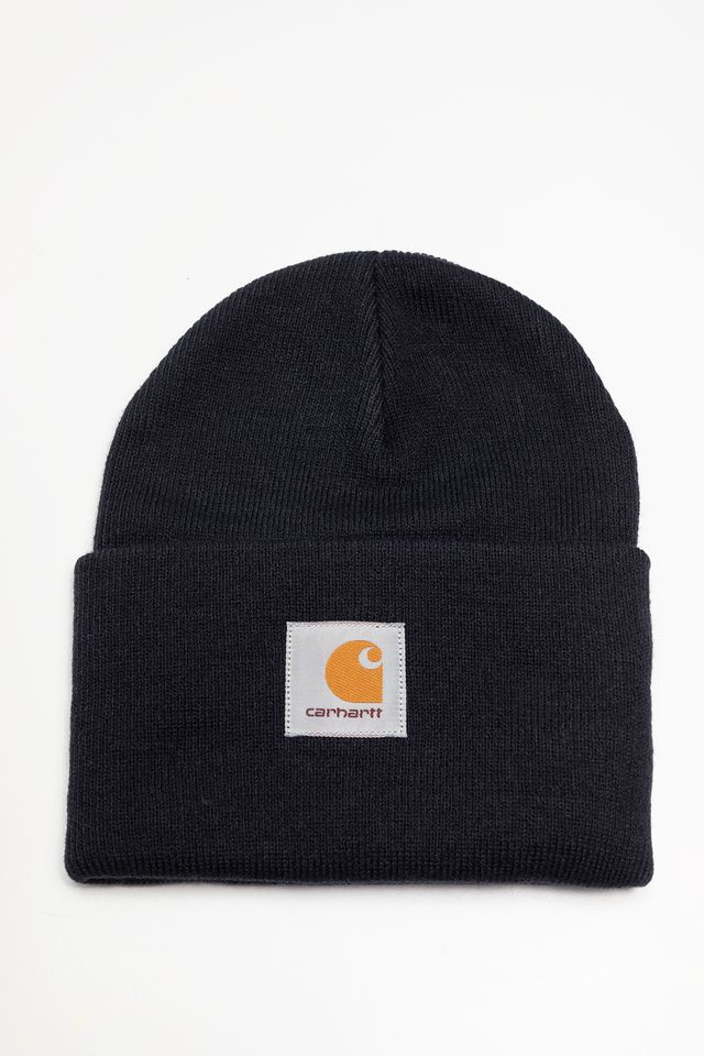 Carhartt WIP ACRYLIC WATCH HAT 1C00 DARK NAVY I020222-1C00