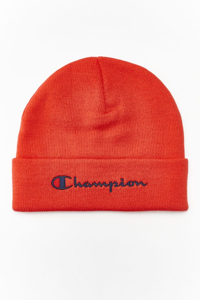 Champion BEANIE CAP PS118 RED 804335-PS118