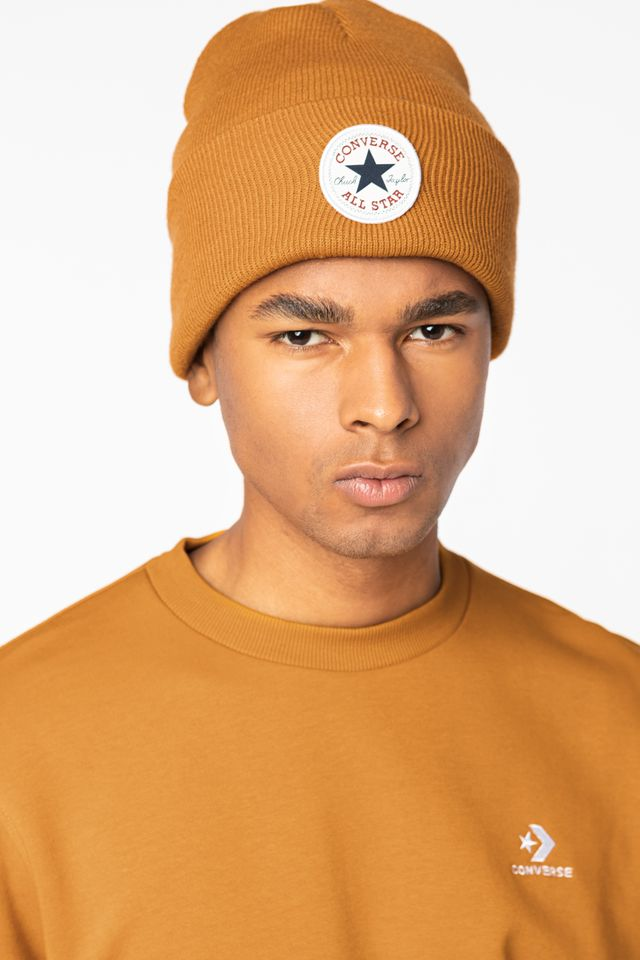 YELLOW 10019012-A10 Tall Chuck Patch Beanie