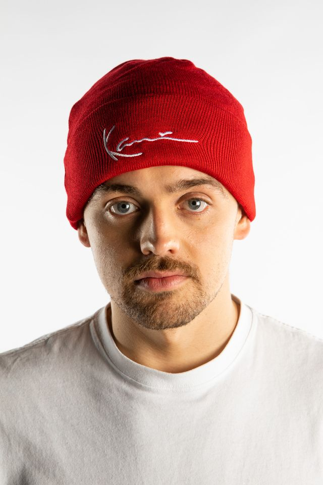 Karl Kani SIGNATURE BEANIE 076 RED 7020076