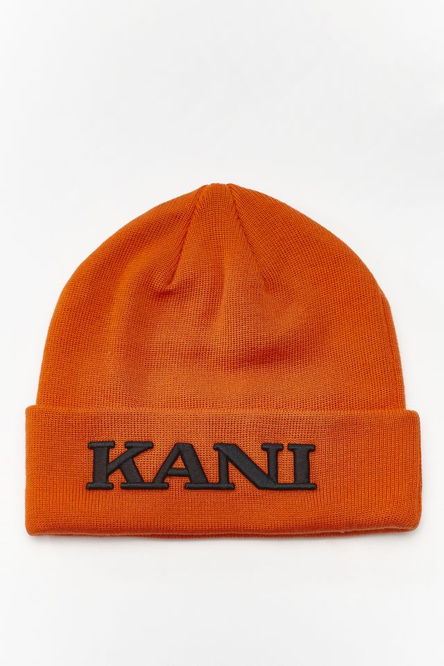 Karl Kani STARTER COLLEGE BEANIE 065 ORANGE 7020065