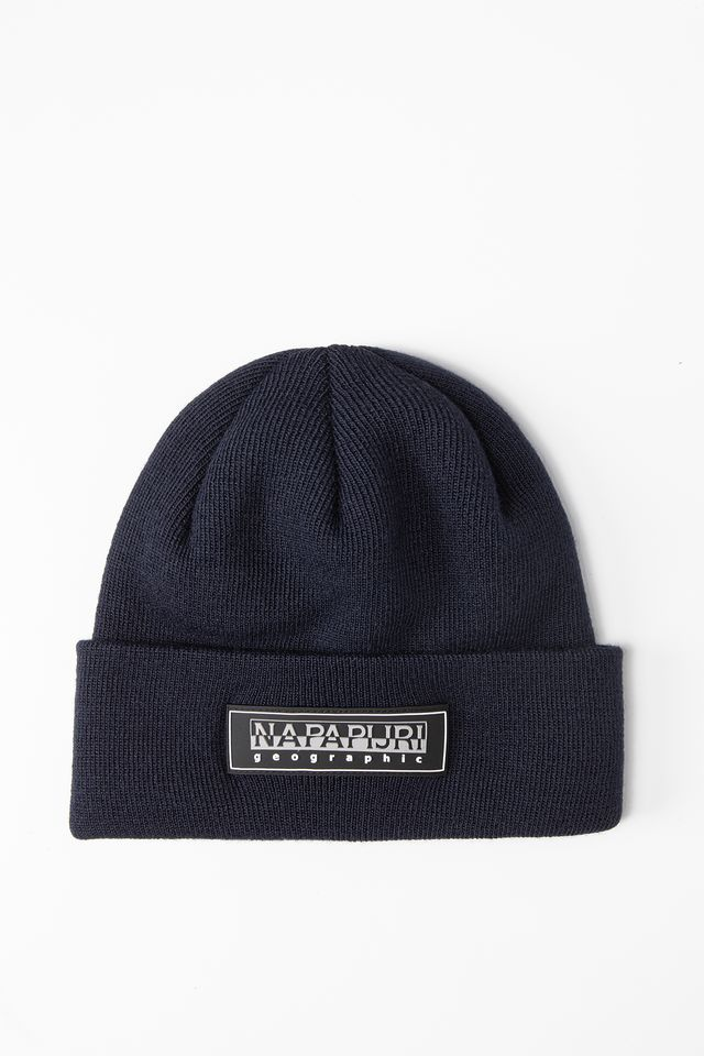BLUE NIGHTS F-PATCH BEANIE  NP0A4EJPB1A1