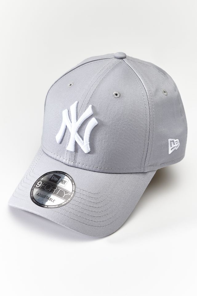 Czapka New Era  <br/><small>9FORTY LEAGUE BASIC 940 GREY </small>  10531940