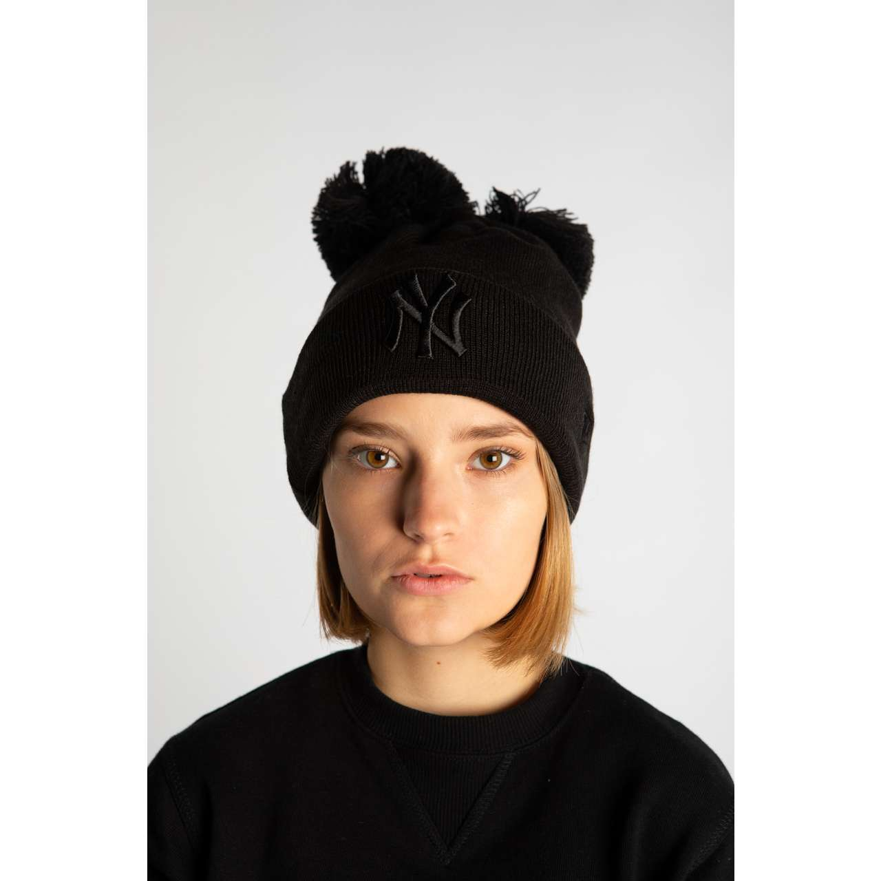 Czapka New Era  <br/><small>DOUBLE POM 541 BLACK </small>  12040541