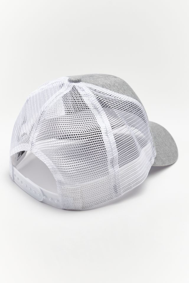 Czapka New Era  <br/><small>FINEST A-FRAME TRUCKER 391 GREY/NAVY </small>  11871391