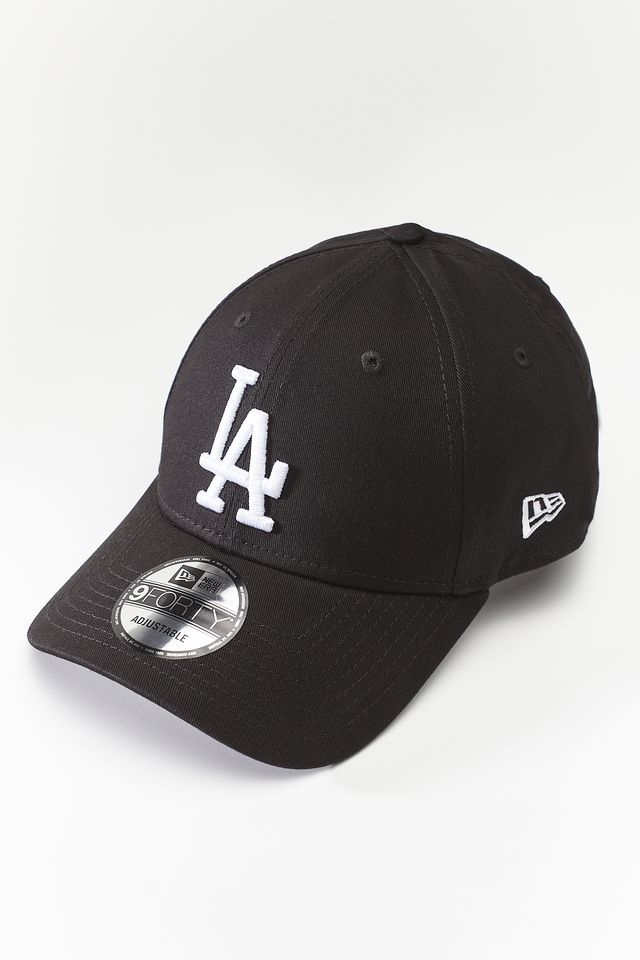 New Era LEAGUE ESSENTIALS 493 BLACK/WHITE 11405493