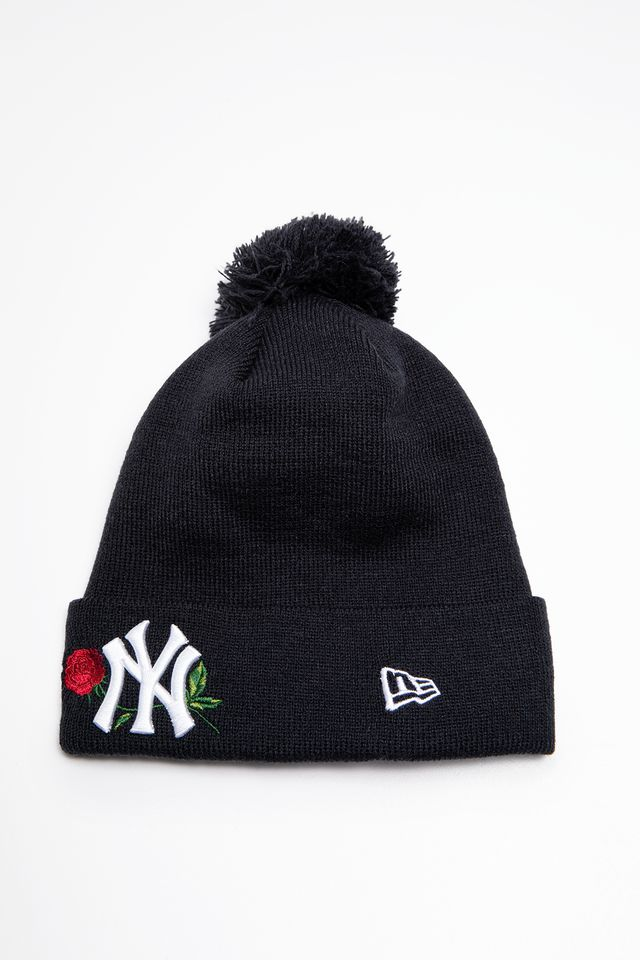 New Era MLB TWINE BOBBLE KNIT 619 NAVY 12134619