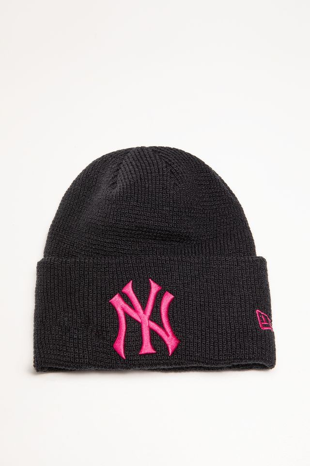 New Era LEAGUE ESSENTIAL CUFF KNIT 630 NAVY 12134630